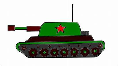 Tank Draw Drawing Army Clipartmag