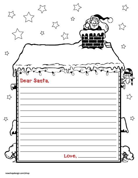 santa letter envelope printable  friends