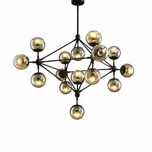 Aliexpress buy black metal iron glass ball pendant
