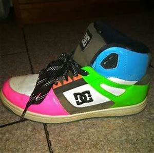 off DC Shoes DC Bright Multi Colored High Tops from