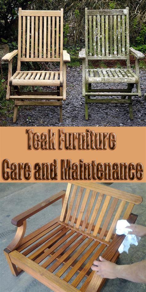 teak furniture care  maintenance quiet corner