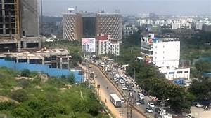 View of Hi-Tech City Skyline at Madhapur,Hyderabad - YouTube