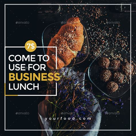 cuisine instagram food instagram templates 15 designs by doto graphicriver