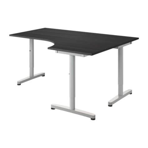 pied bureau ikea espaces bureau bureaux et tables chaises de bureau