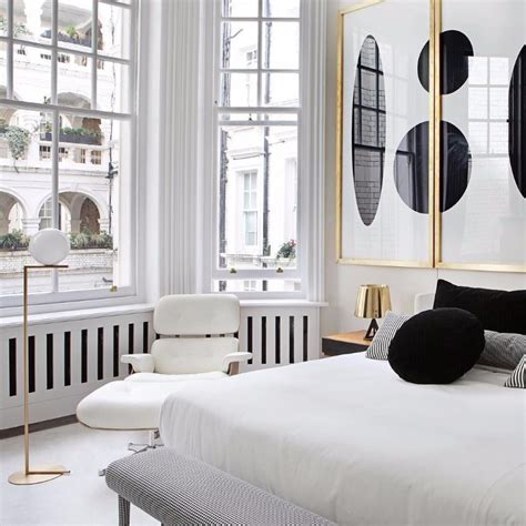 Modern White Bedroom by How To Decorate Your Room In Black And White Master
