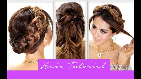 3 Amazingly EASY BACK TO SCHOOL HAIRSTYLES Cute Braids
