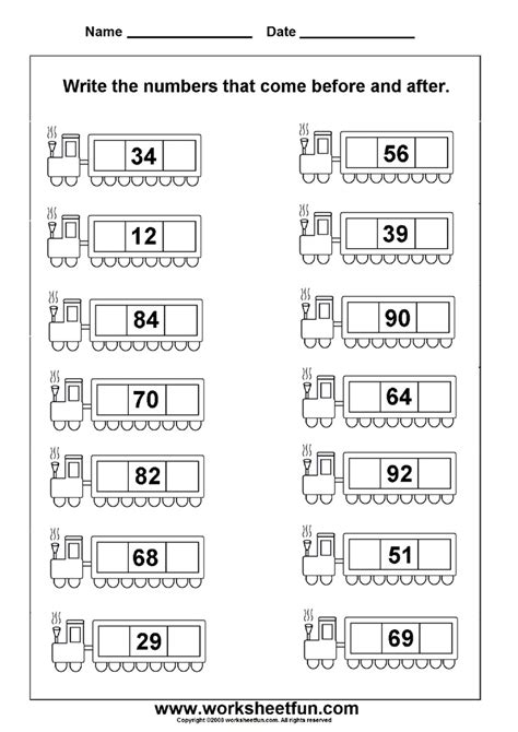 before after numbers 2 worksheets printable worksheets math school math homeschool math