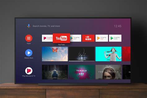 android tv home la nueva interfaz de android oreo  televisores llega  google play