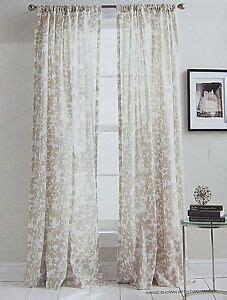 dkny curtains drapes dkny city blossom floral curtains two rod pocket panels
