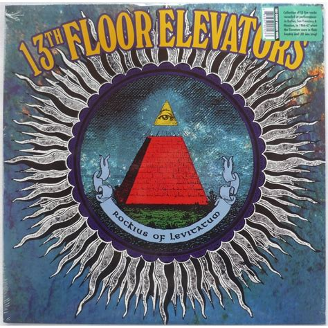 thirteenth floor elevators rockius of levitatum 180gr by 13th floor elevators lp