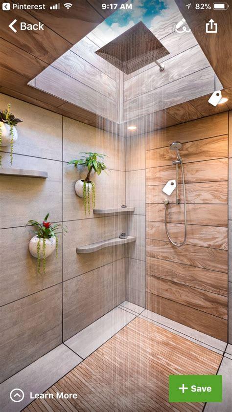 spa shower  skylight  rain shower washroom
