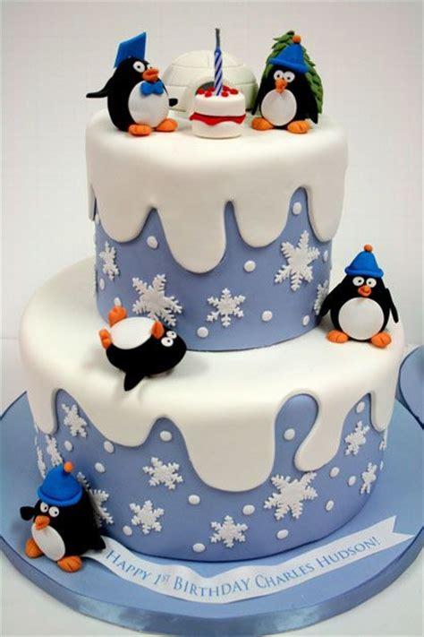 ideas  penguin cakes  pinterest winter