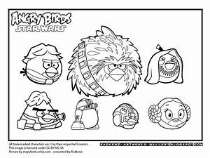 Free coloring pages of yoda angry birds