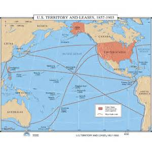Us Territories Map United States