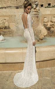 12 Beautiful Backless Wedding Dresses & Gowns