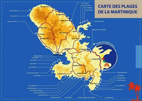 Carte Des Plages Nord by Plage De Martinique 187 Vacances Arts Guides Voyages