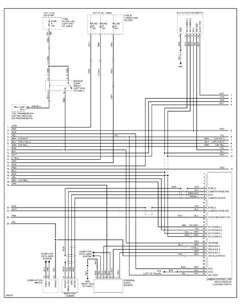 Wiring Diagram For Murano Navigation Unit