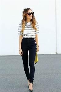 How to Wear High Waisted Jeans u2013 Glam Radar