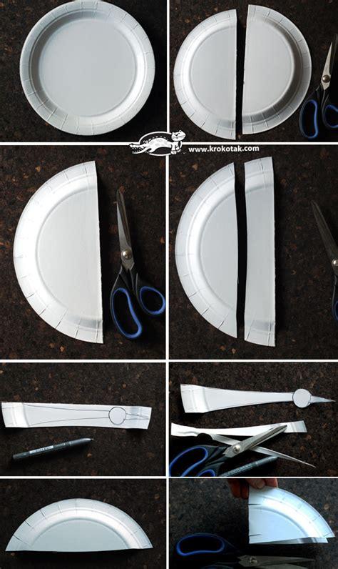 krokotak paper plate stork