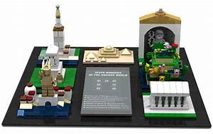 LEGO Ideas - Seven Wonders Of The Ancient World In Microscale