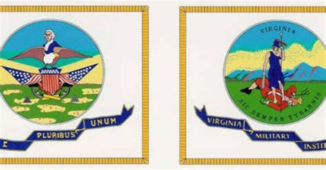 The Vmi Flag Has Been Used Since Before The Civil War In