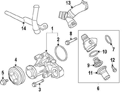 Parts Ford Water Pump Oem