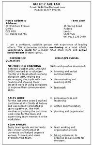 skills based resume example - Google Search | School ...