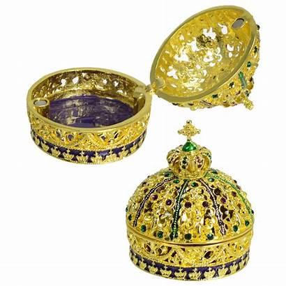 Box Jeweled Pill Crown Gras Mardi Mardigrasoutlet