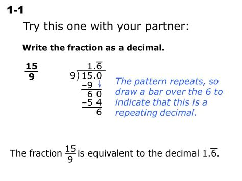 write each decimal as a fraction in simplest form 3