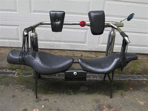 Hodge-podge Furniture From Trashed Harley