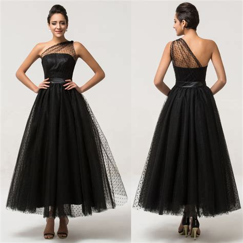 Gk Vintage Style 1950s Tulle Dress Formal Party Long