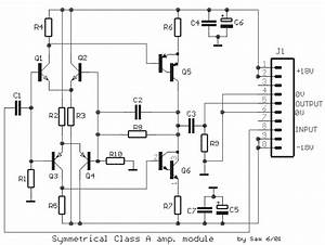 Fet Simple Symmetrical Class-a Amplifier