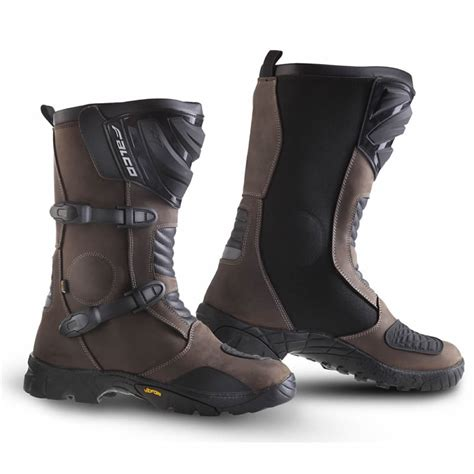 waterproof motorcycle touring boots falco mixto atv waterproof leather motorcycle adventure