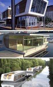17 Extreme Real Houseboats & House Boat Design Ideas