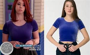 Awkward: Season 3 Episode 4 Tamara's Blue Velvet Top ...