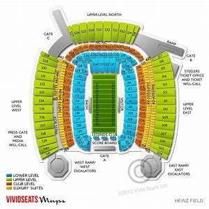 Heinz Field Tickets - Heinz Field Seating Chart