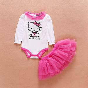 Newborn Baby Girl Clothes Infant Princess HelloKitty ...
