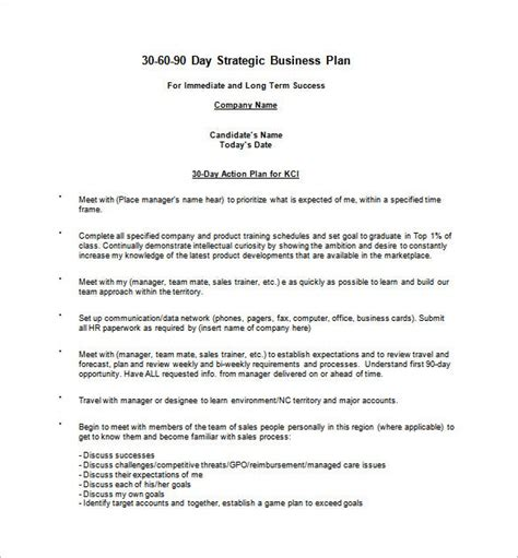day action plan templates word  apple