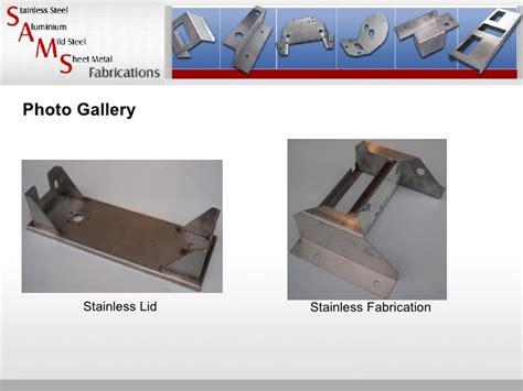 custom metal fabrication stainless steel aluminum