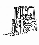 Forklift Coloring Pagina Colouring Elevatore Kleurende Carrello Coloration Chariot Construction Coloritura Vorkheftruck Elevateur Machines Lune Printable Tractor Result Google Illustratie sketch template
