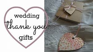 wedding thank you gifts jessica avey youtube With wedding thank you gifts