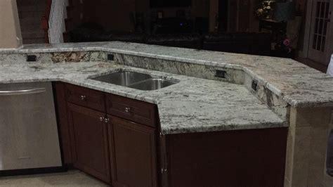 white springs granite countertops installation kitchen