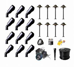 Landscape lighting homekit : Best buy complete premium landscape lighting diy kits