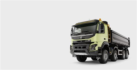 volvo trucks volvo fmx tough solid and seriously strong volvo trucks