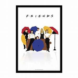 Friends - Umbrella - Poster Print Art, licensed by Warner