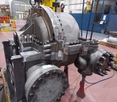 party inspection  steam turbine procedure