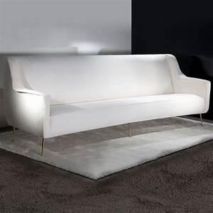 Large designer contemporary velvet sofa for Contemporary velvet sectional sofa