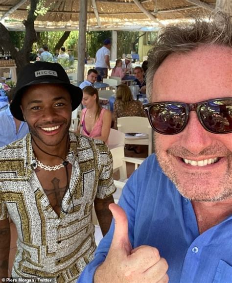 Piers Morgan taunts Raheem Sterling about Arsenal's FA Cup ...