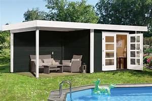 Gartenhaus Mit Flachdach : gartenhaus flachdach weka chill out gr e 3 new design ~ Michelbontemps.com Haus und Dekorationen