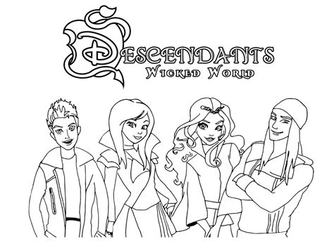 descendants    descendants kids